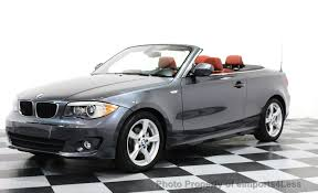 used bmw 1 series convertible 2013 used bmw 1 series certified 128i convertible tech