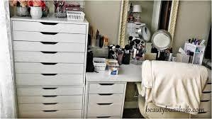 ikea makeup organizer storage ikea closet organizer best dma homes makeup room tour new