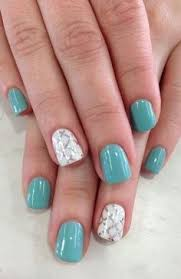 cute feather nail design for short nails fashion te nails