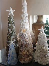 seashell tree with knobby starfish top coastal
