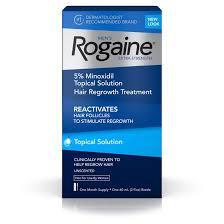 rogaine men u0027s minoxidil extra strength treatment solution 1 month