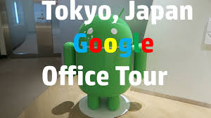 tokyo japan google office tour youtube