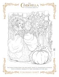 cinderella 2015 activity sheets