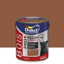 Panneau Bois Teck Peinture Bois Extérieur Protech Dulux Valentine Teck 2 5 L