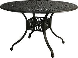 round metal outdoor table outdoorlivingdecor