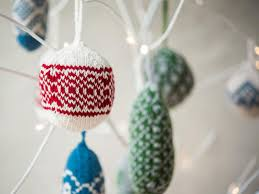 knit colorwork fair isle ornaments kit craftsy