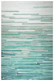 Opal Aqua Turquoise Peacock Topaz OMBRE TILE GLASS KATAMI - Teal glass tile backsplash