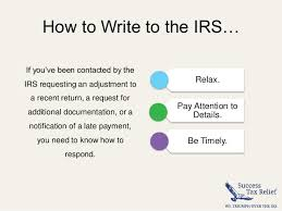 how to write a letter of explanation to the irs from success tax r u2026