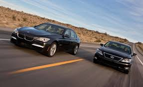 lexus car 2010 photos 2010 bmw 750i vs 2010 lexus ls 460 sport