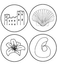 Jesse Tree Coloring Pages Many Interesting Cliparts Tree Coloring Pages Ornaments