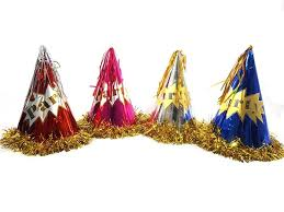 birthday hats party hats cone foil tinsel 4 s part end 9 28 2018 1 15 am