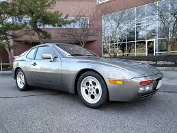 porsche slate gray metallic 1986 porsche 944 turbo for sale on bat auctions sold for 22 000