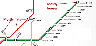 Property Line Map Six Things We Learnt From This London Property Tube Map Citymetric