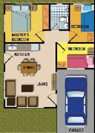 3 bedroom bungalow floor plan 3 bedroom house designs and floor plans philippines house