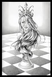 Chess Piece Designs by Queen Chess Piece Drawings Google Search Design Pinterest