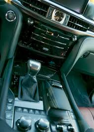 2016 lexus lx 570 gets new look eight speed automatic transmission