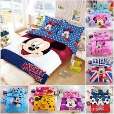 Mickey And Minnie Comforter Mickey Mouse Duvet Ebay
