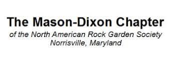 mason dixon chapter local chapter north american rock garden