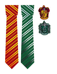 iron harry potter house ties crests hideous dreadful