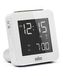 digital alarm clock square braun