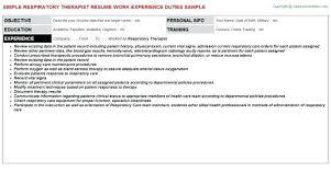 Massage Therapy Resumes Sample Respiratory Therapist Resume Licensed Massage Therapist