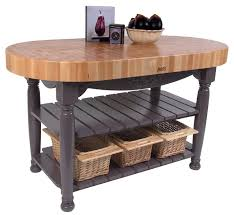 amazon com john boos american heritage harvest kitchen island
