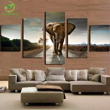 Elephant Home Decor Elephant Painting Canvas Wall Art Picture Home Decoration