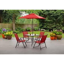 Patio Table Seats 10 Costway Pcs Patio Garden Set Furniture Umbrella Gray With Striking