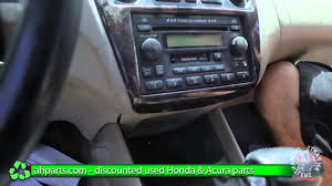 honda accord 2002 parts how to replace change a radio 1998 1999 2000 2001 2002 honda