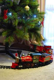 82 best christmas tree under the train images on pinterest