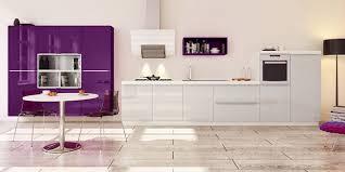 cuisine sur un pan de mur l implantation éaire de votre cuisine you