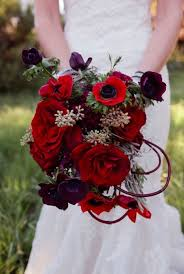 Red Wedding Bouquets 30 Stunning Valentine U0027s Day Wedding Bouquets Weddingomania