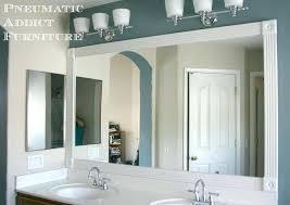 bathroom mirror trim ideas trim bathroom mirror sensational ideas bathroom mirror trim