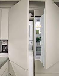 machine a laver dans la cuisine comment intégrer le lave linge dans intérieur 31 idées