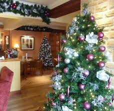 Large Commercial Christmas Decorations Uk by Cosy Christmas Decorations For Pubs And Restaurant From Ambius Uk