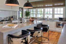 Bar Stool For Kitchen Sag Harbor Ny Residence Beach Style Kitchen New York By