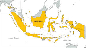 bali indonesia map 4 foreign inmates escape from bali prison