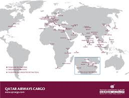 Fedex Delivery Routes Map by Commercial Air Cargo Shipping