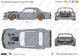 hoonicorn v2 the blueprints com vector drawing ford mustang hoonicorn v2 by rtr