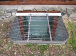 Adding Egress Window To Basement Complete Egress Window Kit White Window Well Window Cover