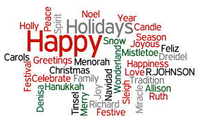 happy holidays from all of us at r johnson r johnson