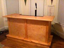hand crafted bar built in kegerator hand crafted pinterest