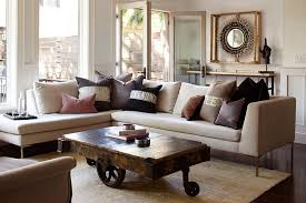 furnitures scandinavian living room with l shaped sofa