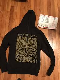 brand new and brand new fingerprint hoodie for sale medium