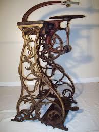2 lrg factory table legs base cast iron industrial antique