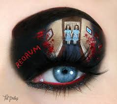 Makeup Artist Books Artist Transforms Her Eyelids Into Paintings Inspired By Movies