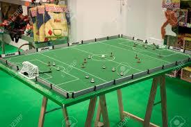 table top football games milan italy november 22 tabletop football game at g come stock