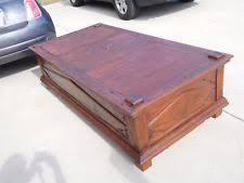 Rustic Teak Coffee Table Teak Rustic Primitive Coffee Tables Ebay