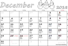 Kalender 2018 Helgdagar December 2018 Namnsdagar Veckonummer Gratis Utskrivbara Pdf