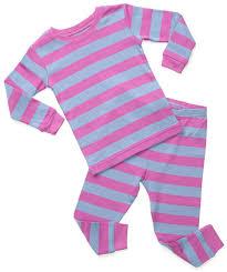 leveret striped 2 pajama set